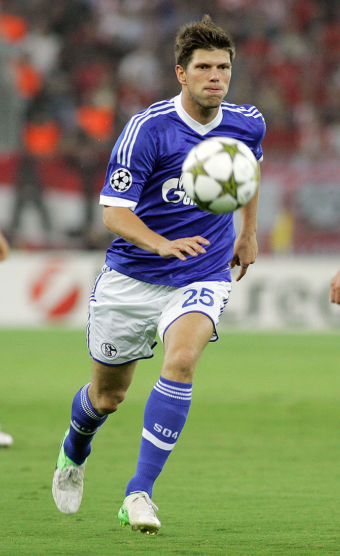Klaas-Jan Huntelaar of Schalke 04 FC