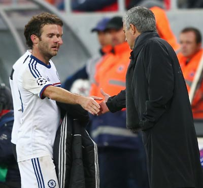 Mourinho sorry he could not make Mata a better player