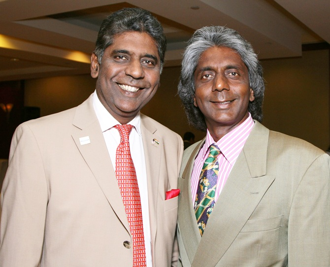 Vijay and Anand Amritraj