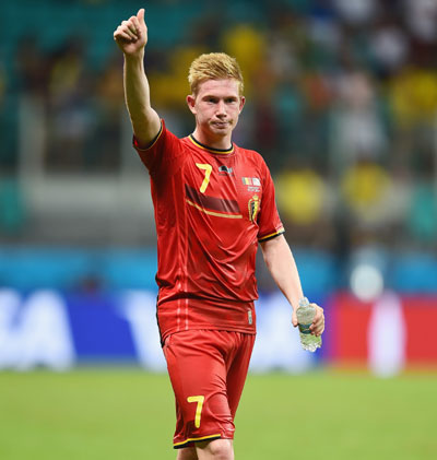 World Cup Player of the Day: De Bruyne made the difference