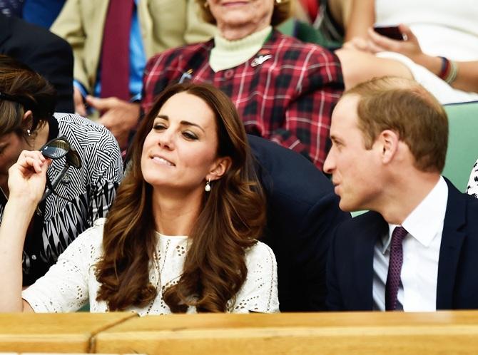 Catherine, Duchess of Cambridge and Prince William Duke of Cambridge