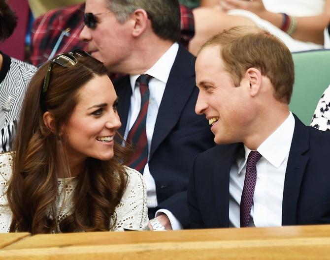 Catherine and Prince William