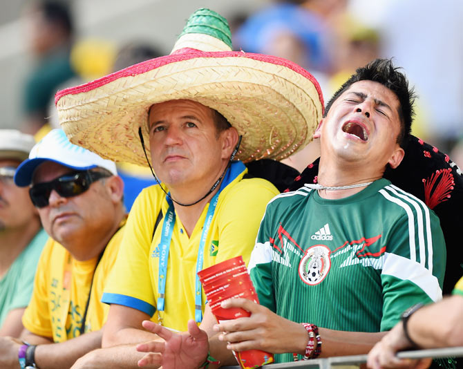 Football World Cup: Agony and Ecstasy in Brazil