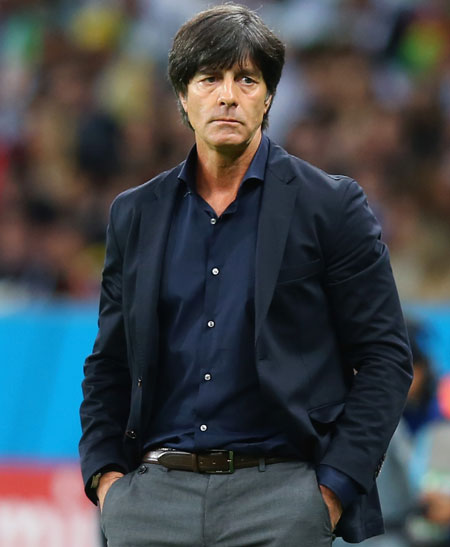 Head coach Joachim Loew of Germany
