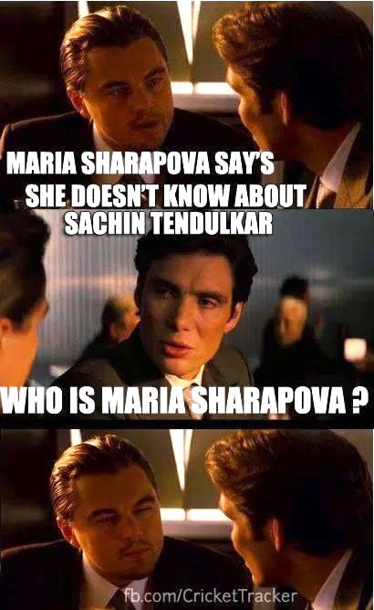 Maria Sharapova on Twitter