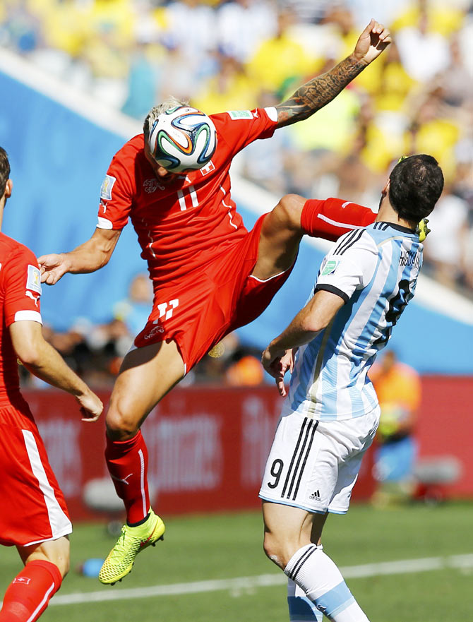 BEST Photos from the World Cup knock-outs