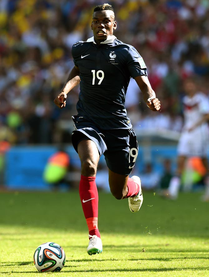 Paul Pogba of France