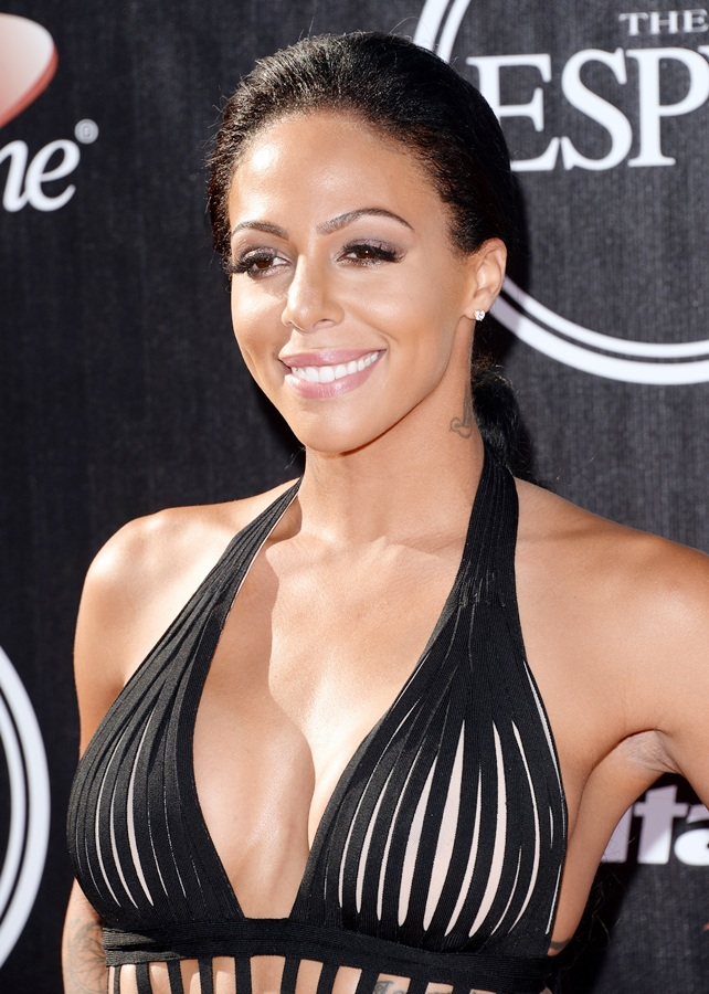 Sydney Leroux attends The 2014 ESPYS at Nokia Theatre