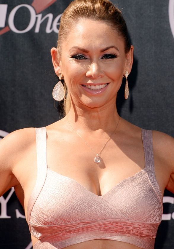Kym Johnson attends The 2014 ESPYS at Nokia Theatre