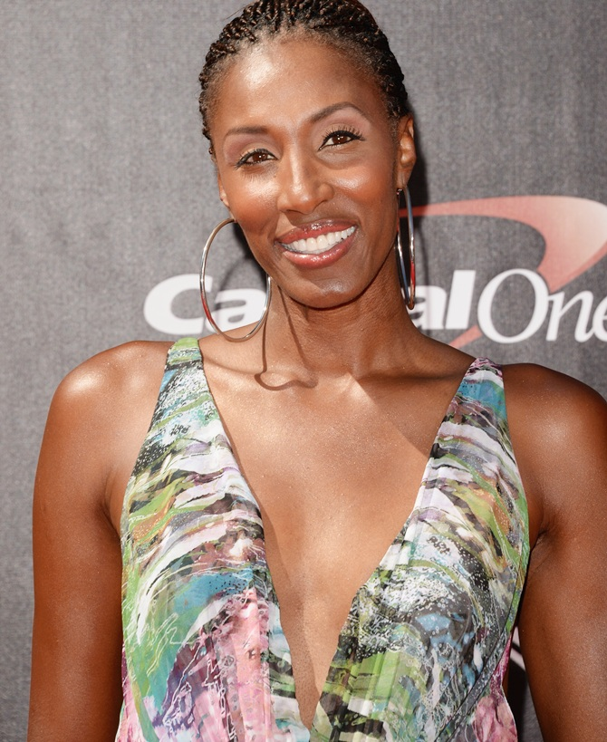WNBA player Lisa Leslie