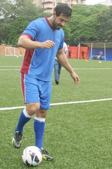 Actor John Abraham owns the Guwahati franchise in ISL