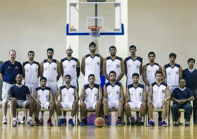 The Indian national basketball team