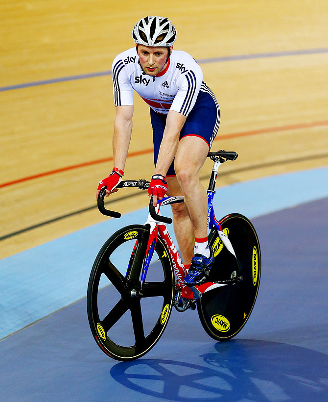 Jason Kenny of Great Britain