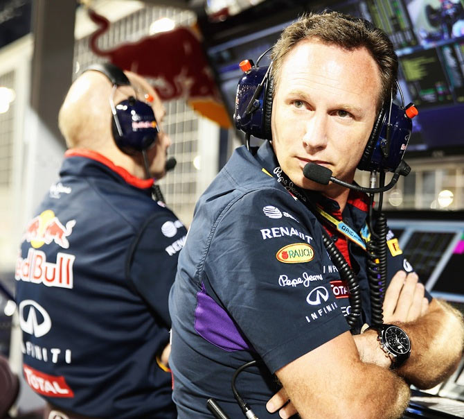 Infiniti Red Bull Racing Team Principal Christian Horner