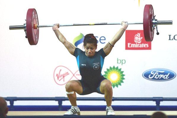 Glasgow CWG: Lifter Sanjita Chanu wins India's first gold