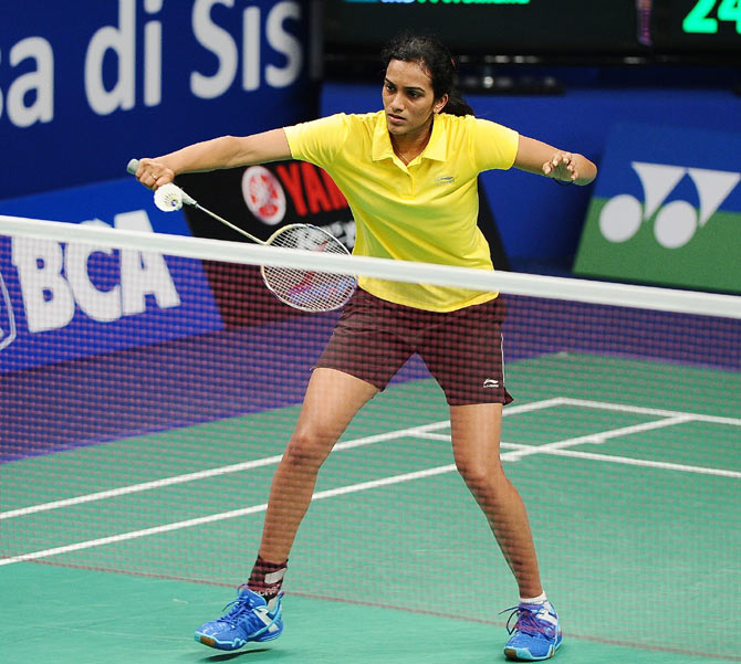PV Sindhu of India