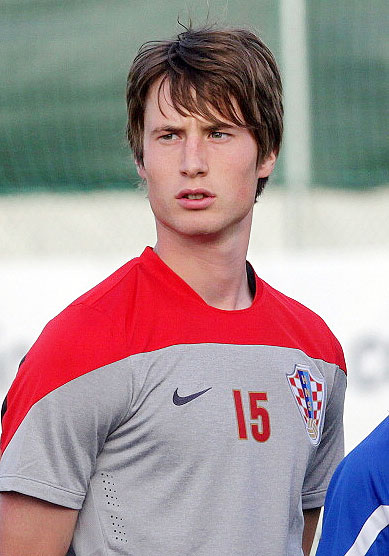 Croatian midfielder Ivan Mocinic