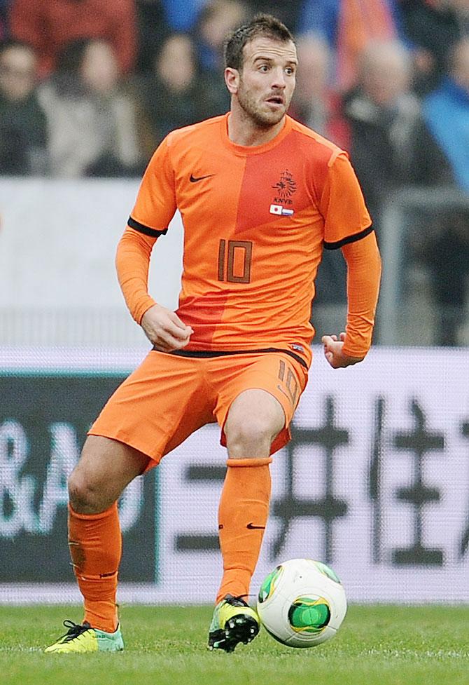 Rafael van der Vaart of Netherlands
