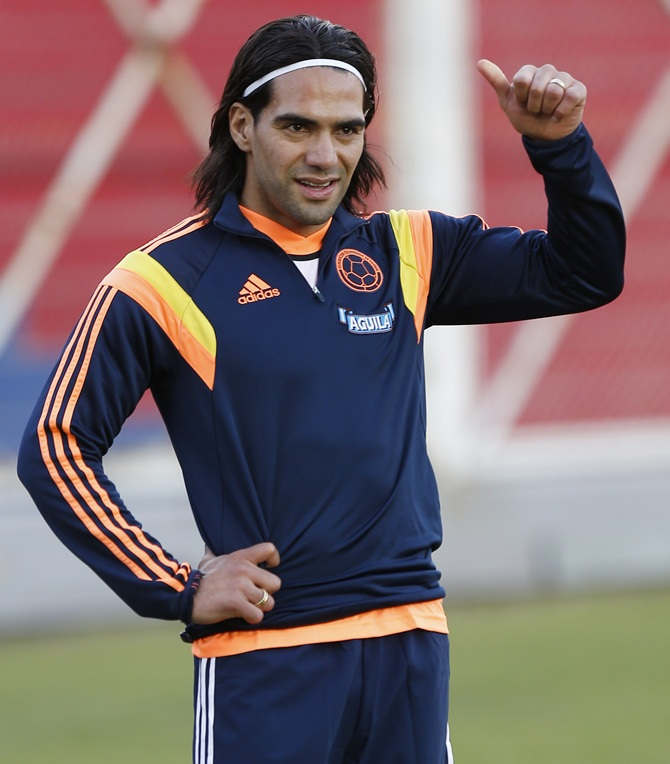 Radamel Falcao of Colombia