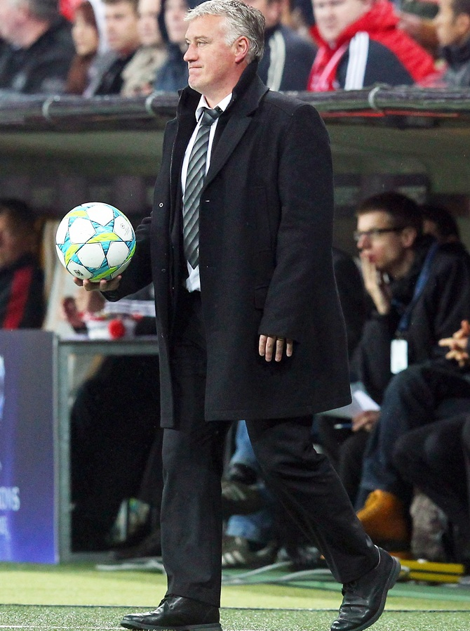 Didier Deschamps, head coach of France