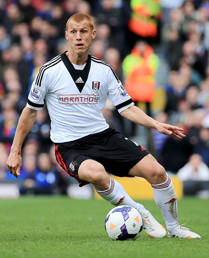 Steve Sidwell of Fulham