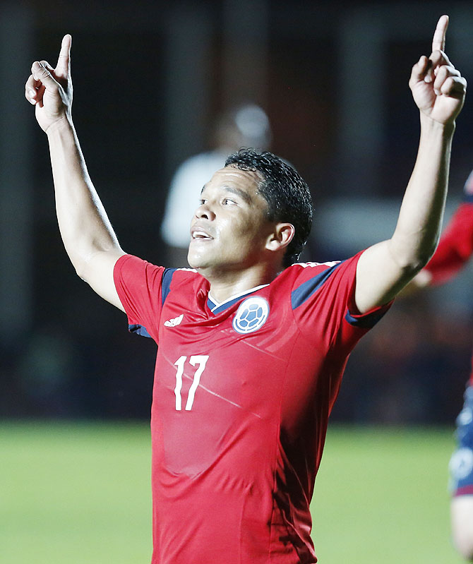 Carlos Bacca of Colombia