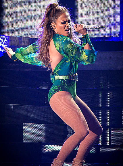 Jennifer Lopez performs at Orchard Beach