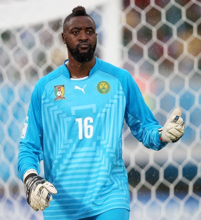 Charles Itandje of Cameroon