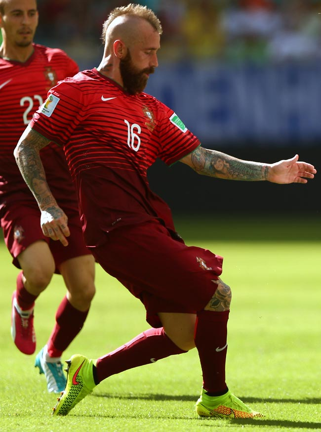 Raul Meireles of Portugal