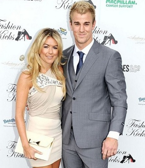 Kimberly Crew with Joe Hart