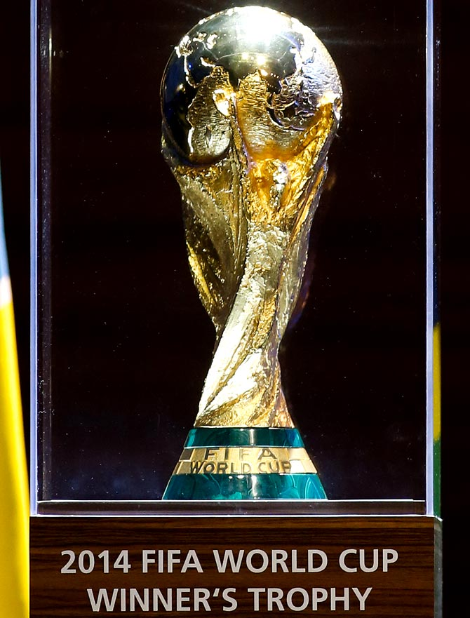 The FIFA World Cup winner's trophy