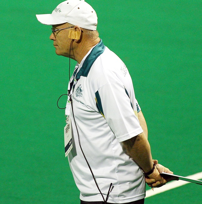 Ric Charlesworth, coach of Australia