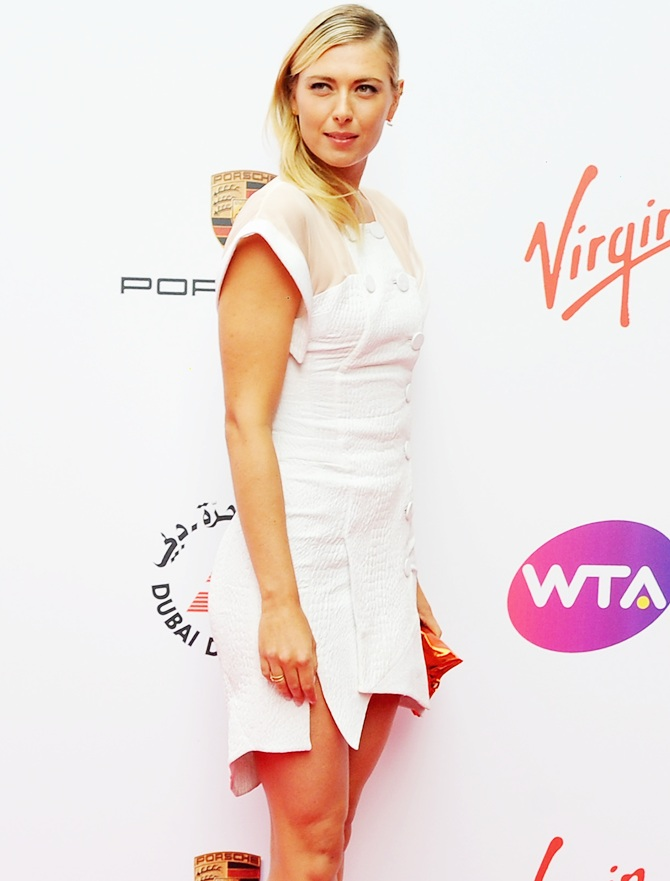 Maria Sharapova attends the WTA pre-Wimbledon party