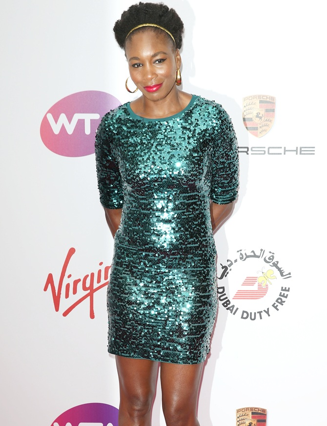 Venus Williams at the WTA pre-Wimbledon party