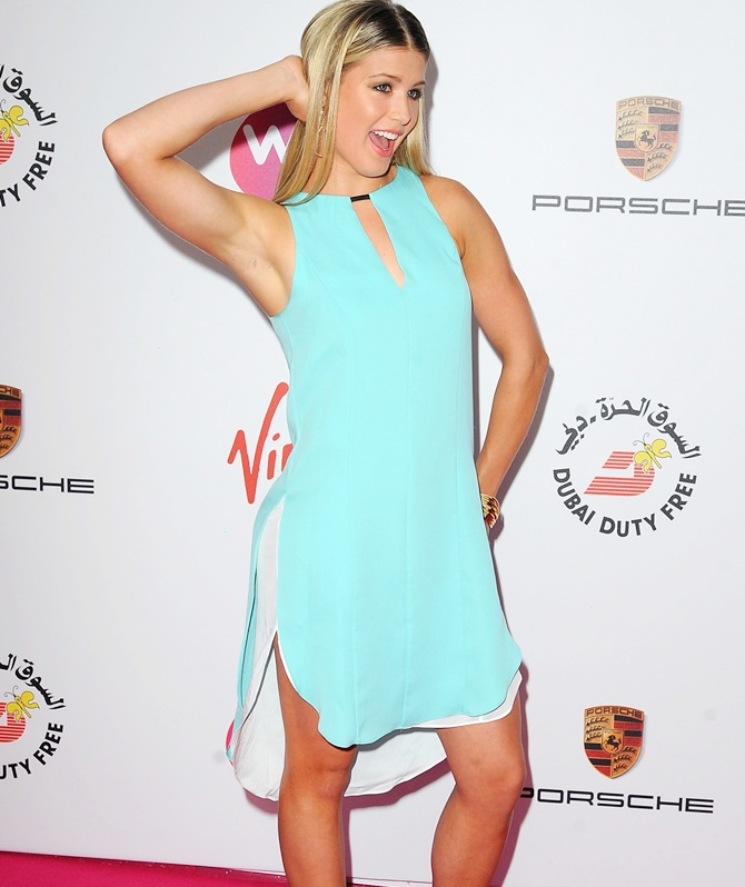 Eugenie Bouchard at the WTA pre-Wimbledon Party