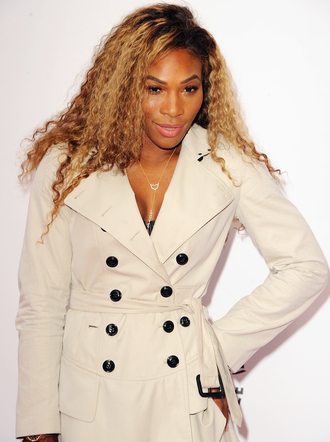 Serena Williams attends the WTA pre-Wimbledon party