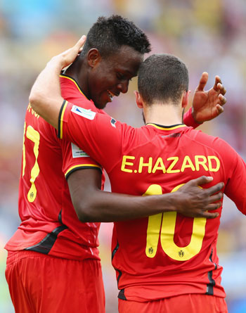 Divock Origi and Eden Hazard
