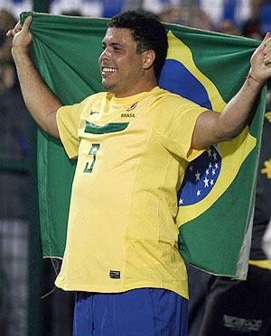 Former Brazil striker Ronaldo