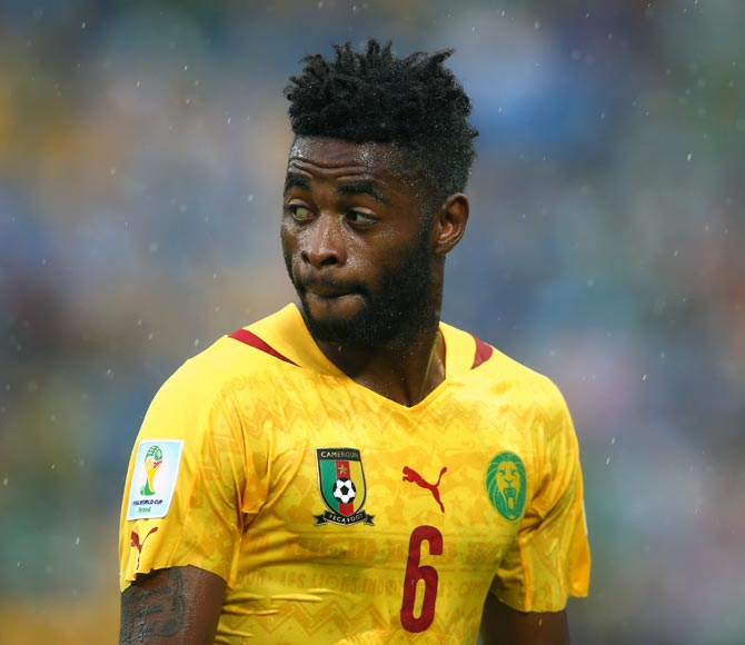 Alex Song of Cameroon