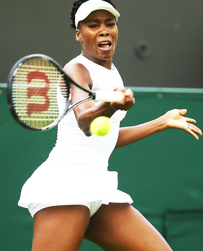 Venus Williams of the United States