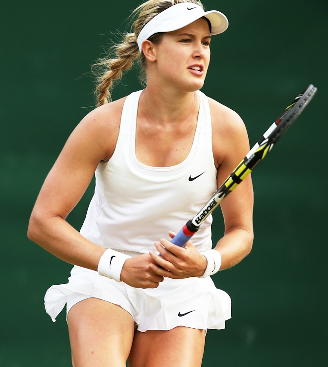 Eugenie Bouchard of Canada