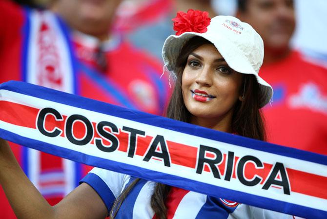 A Costa Rican fan