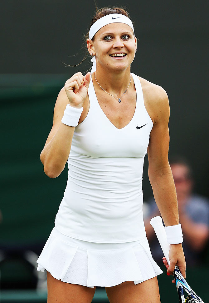 Lucie Safarova of Czech Republic