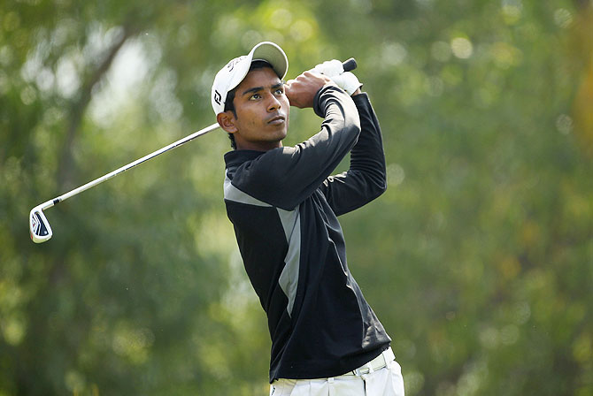 Indian golfer Rashid Khan