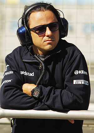 Felipe Massa of Brazil and Williams