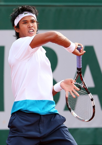 Somdev Devvarman of India.
