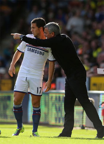 Chelsea's Hazard shuns Mourinho's advice for rest