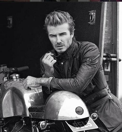 Soccer star David Beckham