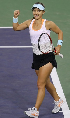 Rediff Sports - Cricket, Indian hockey, Tennis, Football, Chess, Golf - Indian Wells: Unseeded American shocks fancied Azarenka