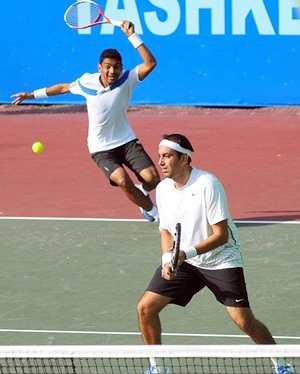 Rediff Sports - Cricket, Indian hockey, Tennis, Football, Chess, Golf - Divij, Raja clinch first Challenger title in Kyoto